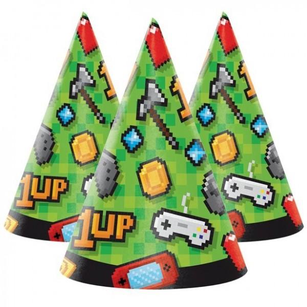 Cappelli per feste di compleanno a 8 livelli 16 cm