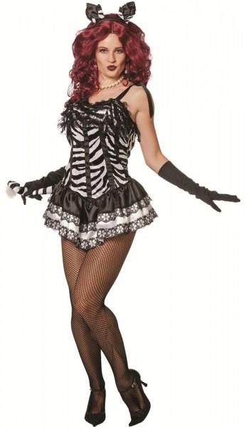 Sexy Zebra Diandra Kostüm