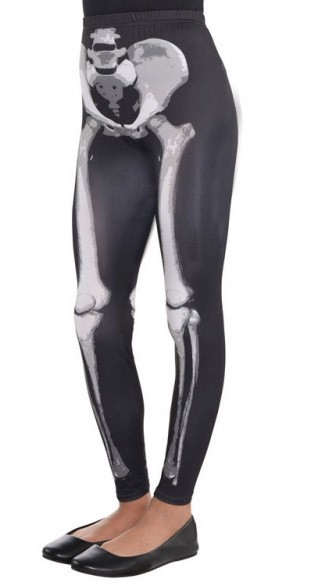 Halloween X-Ray Skelett Leggings