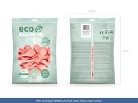 100 Eco metallic Ballons roségold 26cm