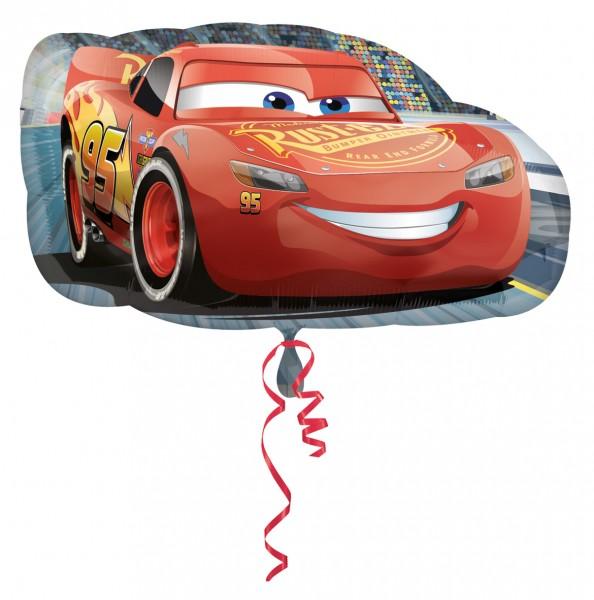 Folienballon Cars Lightning McQueen Figur