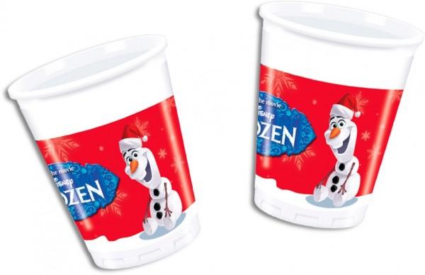8 Olafs Weihnachtswunder Becher 200ml