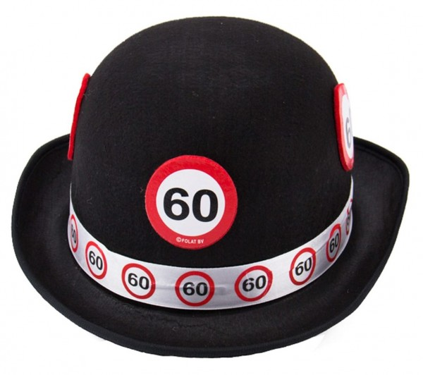 Segnale stradale Hat 60 ° compleanno