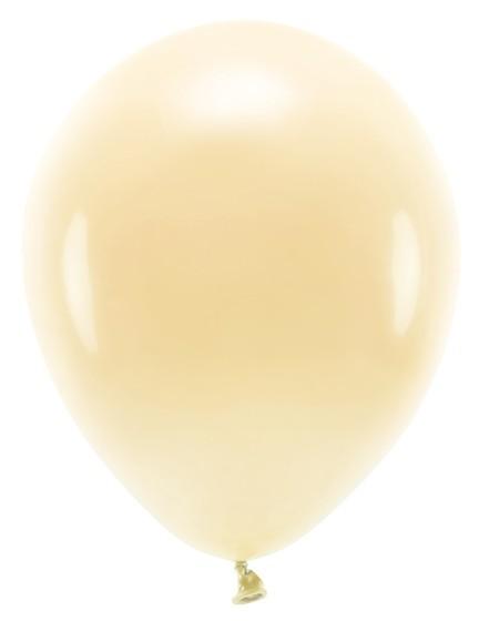 100 Eco Pastell Ballons light peach 30cm
