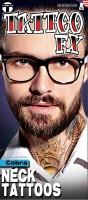 FX Hals Tattoo Kobra