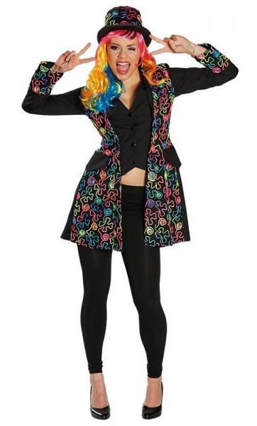 Manteau Crazy Dandy 80s pour femme