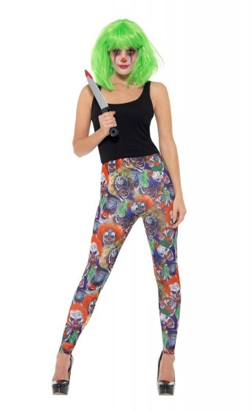Horrorclown Leggins für Damen