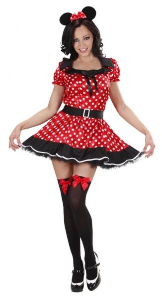 Süßes Minnie Mouse Damenkostüm