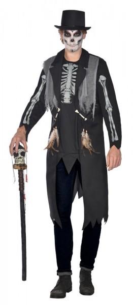 Costume de maître vaudou pour homme