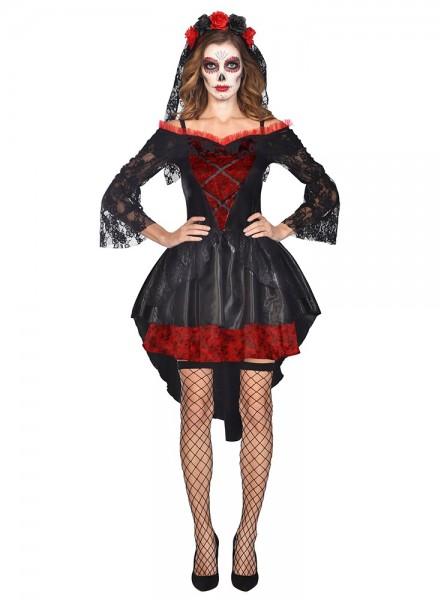 Disfraz del Día de los Muertos para mujer