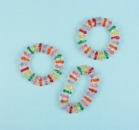 Fashion Party Kristall Armbänder Perlenoptik 8 Stück