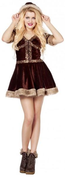 Elegantes Alaska Girl Damenkostüm