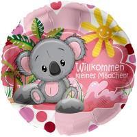 Folienballon Koala-Mädchen 45cm