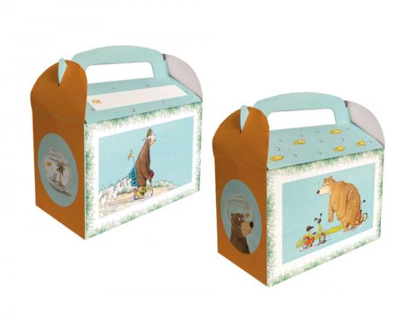 8 Dr. Brumm Geschenkboxen mit Namensfeld
