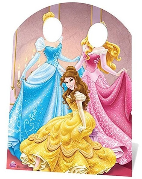 Disney Princess Foto Aufsteller 1,27m