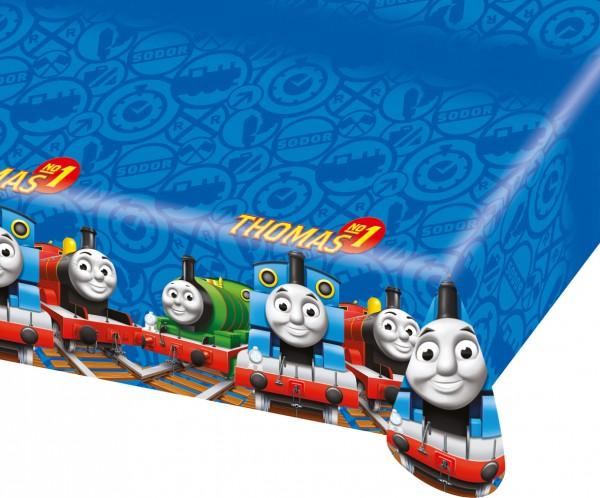 Thomas Die Kleine Lokomotive Tischdecke Blau 120x180cm