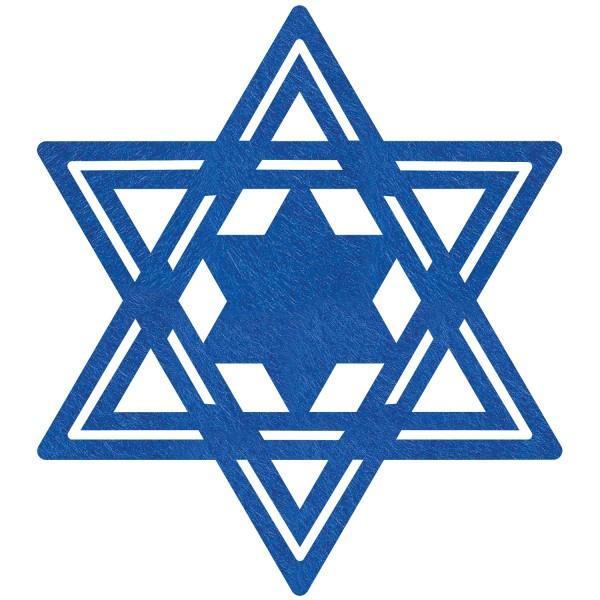 6 sets de table Happy Hanukkah 40cm