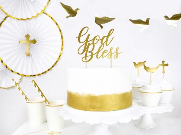 Decoración para tarta Heaven Blessed 27,5cm