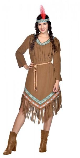 Native American Tatinka Costume Ladies