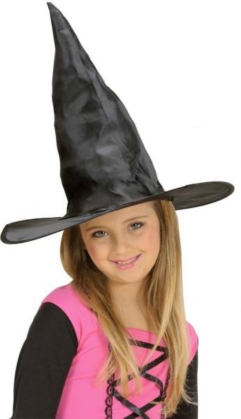 Kleiner Schwarzer Hexenhut Für Mädchen