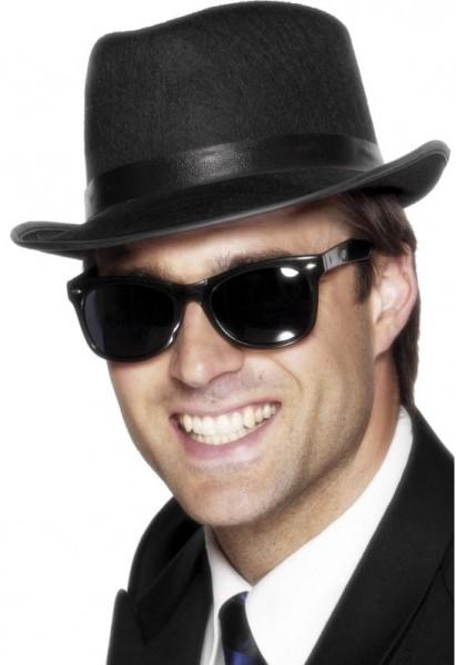 Gangster Brille Schwarz