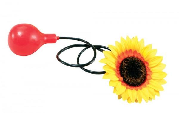 Spaßige Spritz Sonnenblume