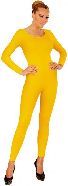 Body de manga larga para mujer amarillo