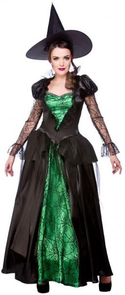 Costume strega Agata con ragnatele