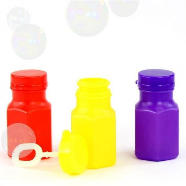 24 Mini-Seifenblasen Flaschen bunt 17ml
