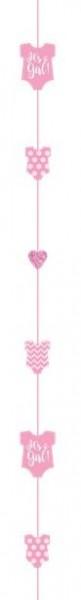Baby girl romper balloon trailer 1,8m