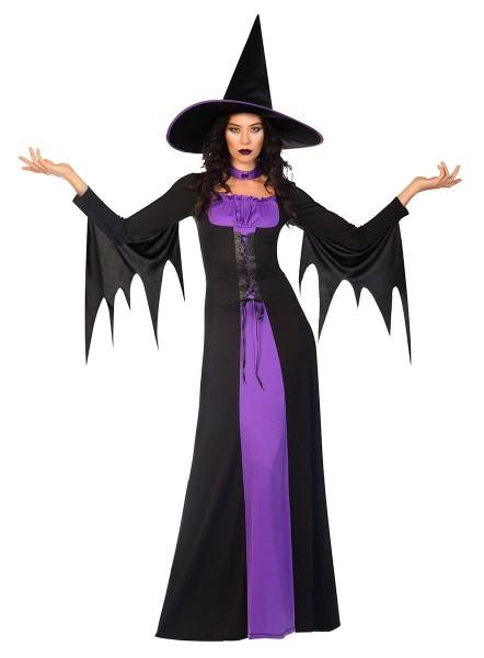 Hexe Violet Damenkostüm Classic