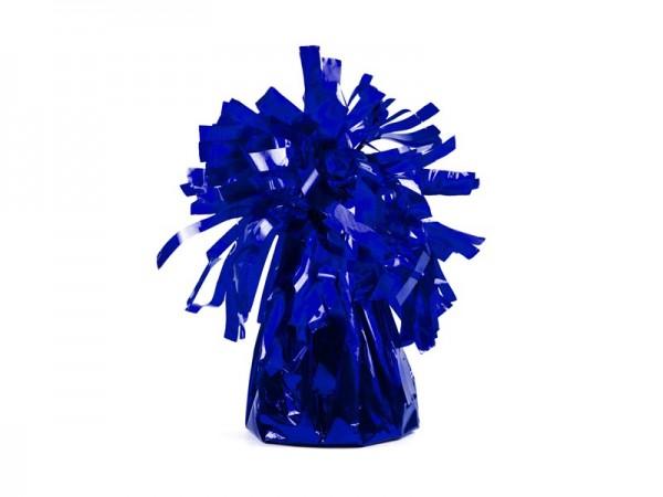 Ballongewichten voor folieballonnen in donkerblauw