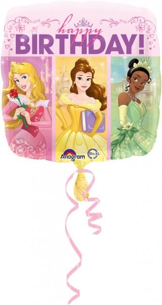 Ballon d'anniversaire Disney Princesses-Dreams angulaire
