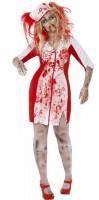 Untote Blutige Krankenschwester Damenkostüm