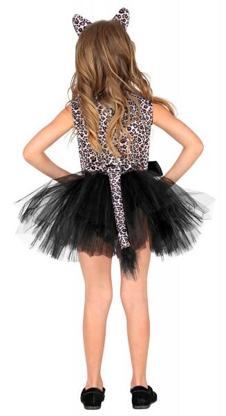 Süßes Leopardenkostüm für Mädchen