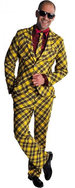 Yellow Stripes Herrenanzug