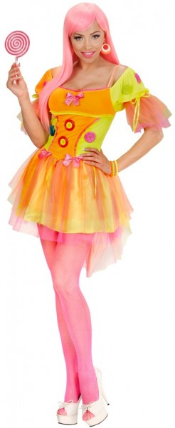 Sweet Candy Clown Damenkostüm