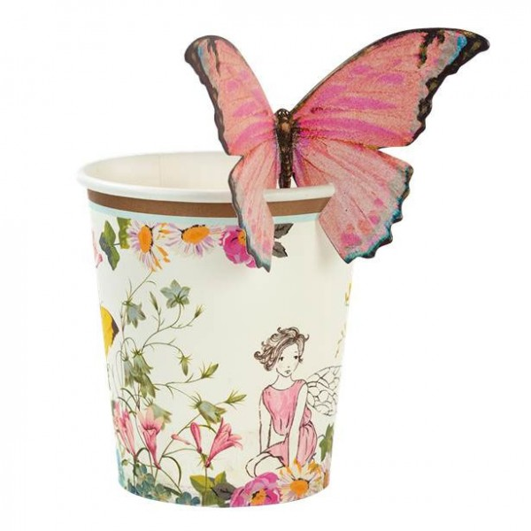 12 gobelets en papier conte de fées 200 ml