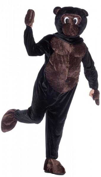 Dierlijke aap herenkostuum