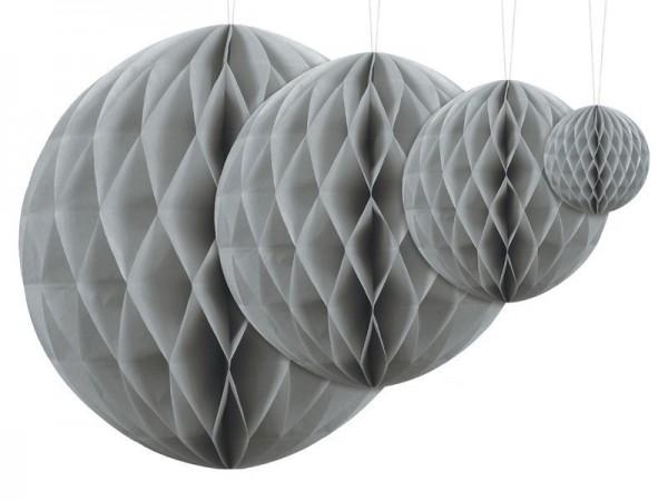 Honeycomb ball Lumina gray 20cm