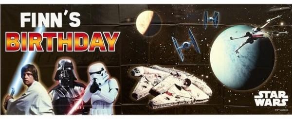 DIY Star Wars Banner 1,2m
