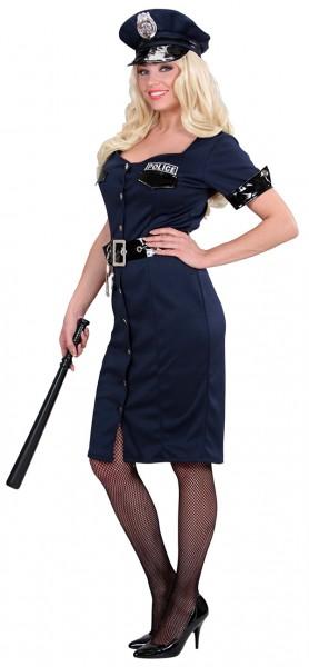 Sexy 50er Jahre Polizistin Damenkostüm