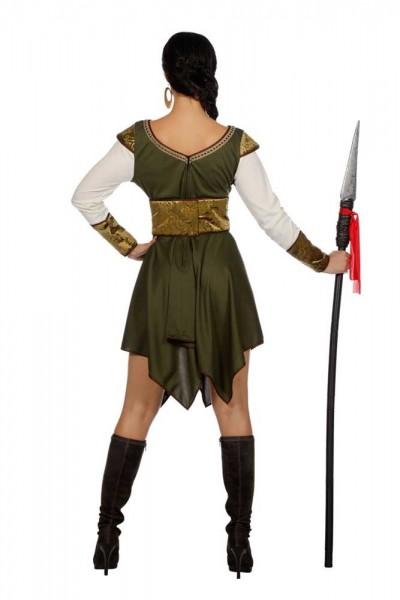 Mittelalterliche Wächterin Damenkostüm