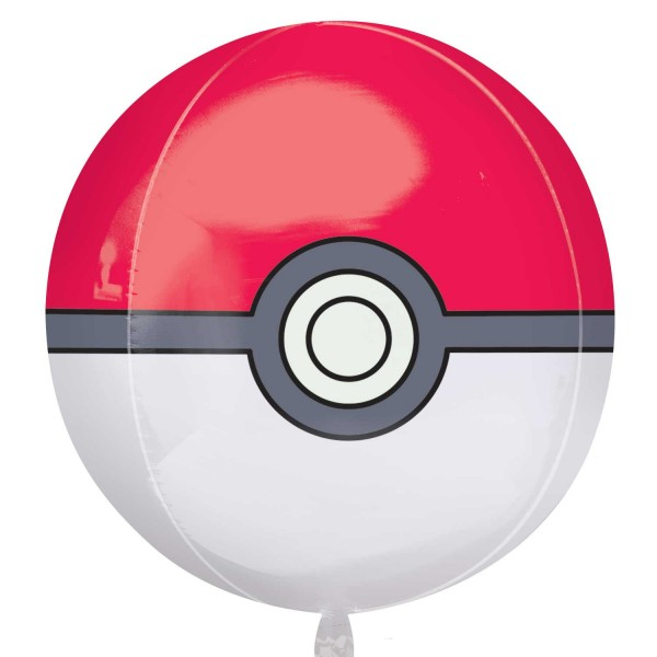 Pokeball foil balloon
