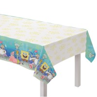 Spongebob Party Tischdecke 2,6m