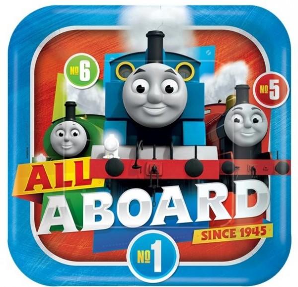 8 Thomas the little locomotive paper plate 23cm