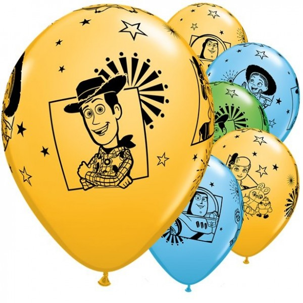 25 Toy Story 4 Luftballons 28cm
