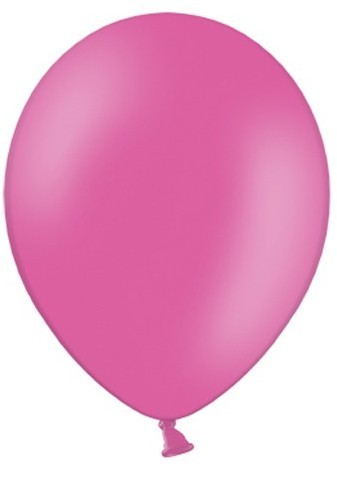 50 party star balloons pink 27cm