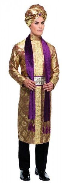 Bollywood König Kostüm für Herren