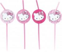 8 Charming Hello Kitty Strohhalme